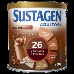 Sustagen Adulto+ 400g Sabor Chocolate - Complemento Alimentar