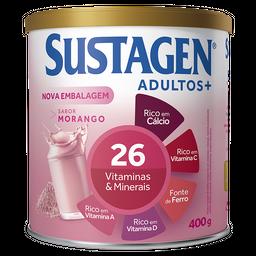 Sustagen Adulto+ 400g Sabor Morango - Complemento Alimentar