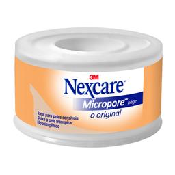 Compre 2 Ganhe 10% Esparadrapo Micropore Nexcare 3M Bege 25Mmx4,