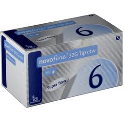 Agulha Novofine G32 6Mm Com 100 Und