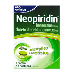 Neopiridin Com 12 Pastilhas