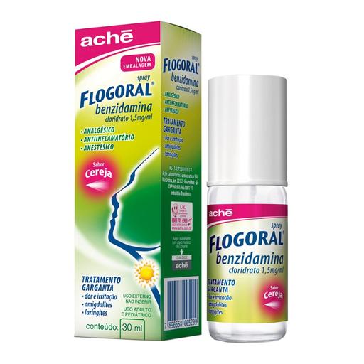 Flogoral Cereja Spray 30 mL