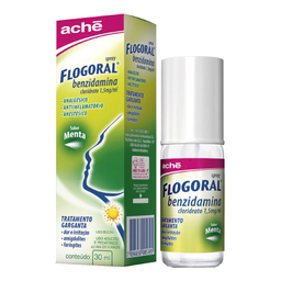 Flogoral Menta Spray 30 mL