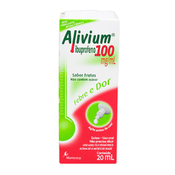 Remédio Alivium 100 Mg Mantecorp 20 mL