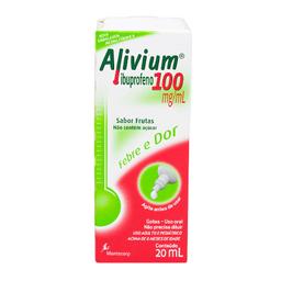 Remédio Alivium 100 Mg Mantecorp 20 mL
