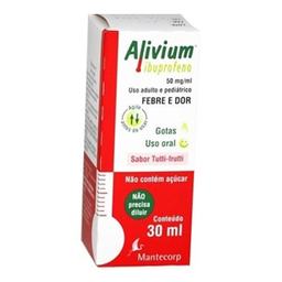 Alivium 50 Mg Mantecorp 30 mL