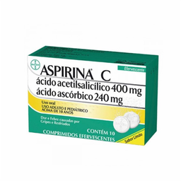 Aspirina C 10 Comprimidos