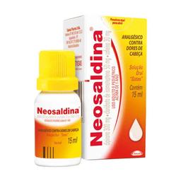 Neosaldina Solução Gotas 15 mL
