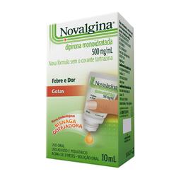 Novalgina 500 Mg / mL Sanofi Aventis 10 mL