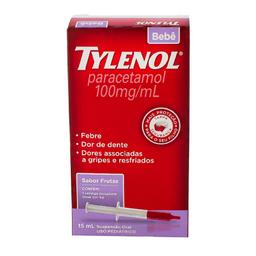 Tylenol 100 Mg Bebê Gotas 15 mL