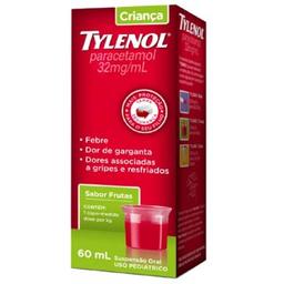 Tylenol Criança Suspensão 60 mL