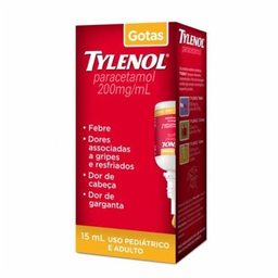Tylenol 200 Mg Gotas 15 mL