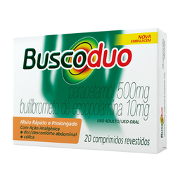 Remédio Buscoduo 10 Mg + 500 Mg Boehringer 20 Comprimidos