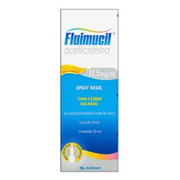 Fluimucil Solução Nasal 20 mL