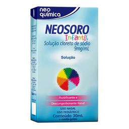 Neosoro Solução Infantil 30 mL