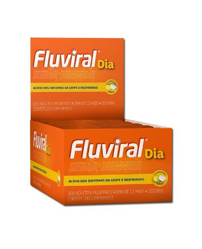 Compre 2 Ganhe 50% Fluviral Dia 4 Comprimidos