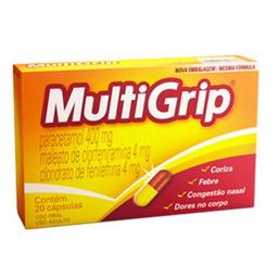 Multigrip Com 20 Comprimidos