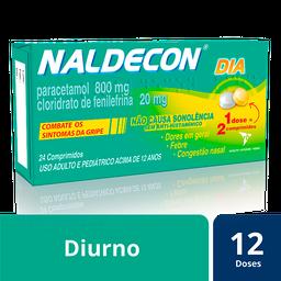 Naldecon Dia Cartucho 24 Comprimios