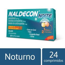 Naldecon Noite Cartucho 24 Comprimidos