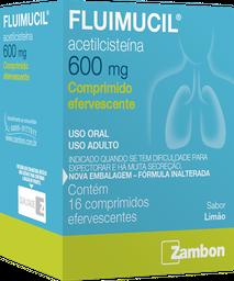 Fluimucil Comprimidos Efervescentes 600
