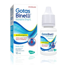 Gotas Binelli Daudt 10 mL Solução Oral