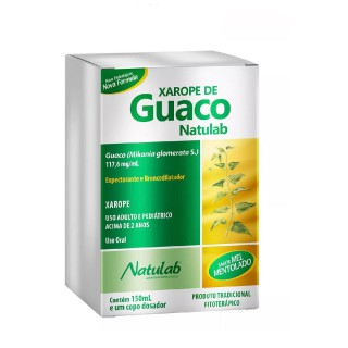 Natulab  Xarope de Guaco 117.6 Mg/ Ml Solução