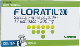 Floratil 200 Mg Blister Com 6 Und