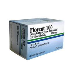 Florent 100 Mg 12 Cápsulas