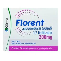 Florent 200 Mg 4 Envelopes
