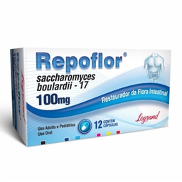 Repoflor Com 12 Cápsulas