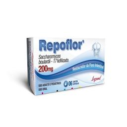 Repoflor 200 Mg Com 6 Cápsulas