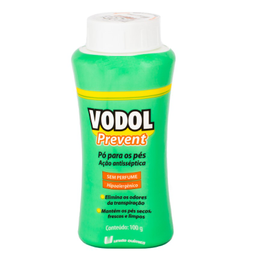 Vodol Prevent Sem Perfume Po 100 g