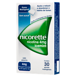 Nicorette Icemint 4Mg 30Un