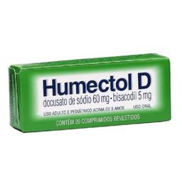 Remédio Humectol D Farmasa 20 Comprimidos