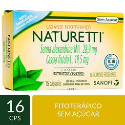 Regulador Intestinal Naturetti 16 Und