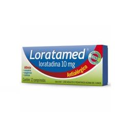 Remédio Loratamed Cimed 10 Mg Com 12 Comprimidos