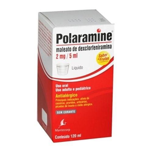 Polaramine Líquido 120 mL