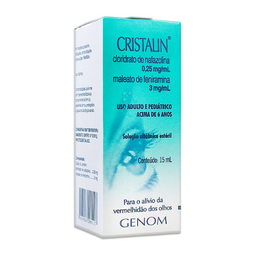 Cristalin Colírio 15 mL