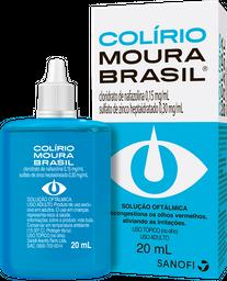 Colirio Moura Brasil 20 mL
