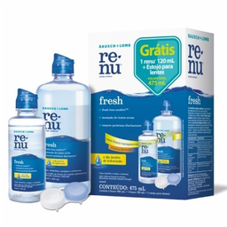 Renu Plus 355 mL + 120 mL Gotas Estojo