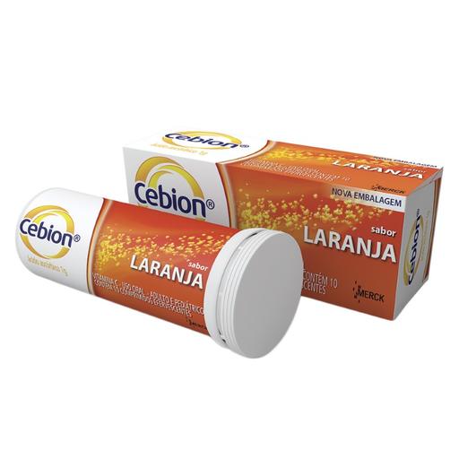 Cebion Caixa Efervescentes Sabonete Laranja