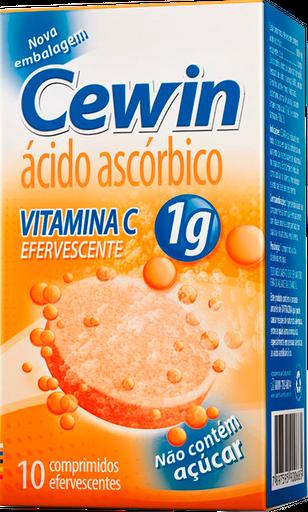 Cewin 1 g Com 10 Comprimidos Efervescentes