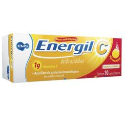 Energil C 1 g Com 10 Comprimidos Efervescente