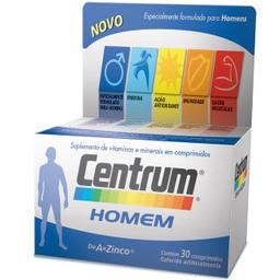 Comprimidoslexo VitamíNico Centrum Homem 30 Comprimidos