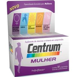 Comprimidoslexo Vitamínico Mulher Centrum 30 Comprimidos