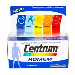 Comprimidoslexo Vitamínico Homem Centrum 60 Comprimidos