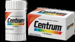 Centrum Comprimidosleto De A A Zinco Com 30 Comprimidos
