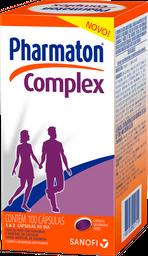 Pharmaton Comprimidoslex Com 100 Cápsulas