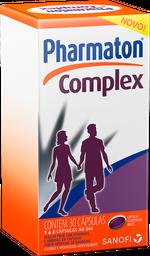 Pharmaton Comprimidoslex Com 30 Cápsulas