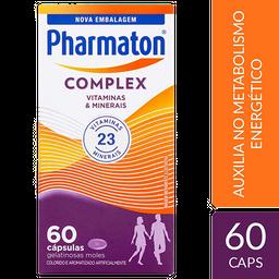 Pharmaton Comprimidoslex Com 60 Cápsulas Em Gel